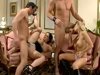 british ladies sexy foursome