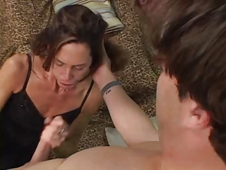 slim cougar brunette sherry wyne acquires her