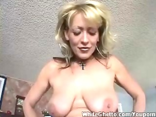 clean ghetto - busty grown-up worship his dick