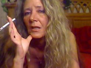 elderly smoking