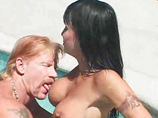 super lady deepthroats and gangbangs bf by the