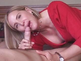 grownup woman acquires cum