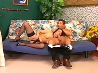 cougar fuck on the couch