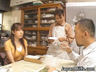 naughty japanese woman licking and banging part4