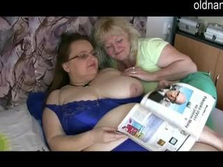 gorgeous elderly grownup homosexual women