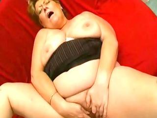 elderly big stunning girl