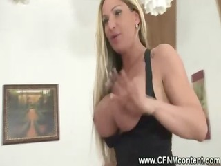 cfnm milfs driving the waiters penis