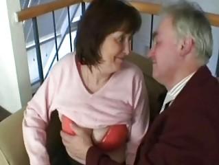 granny grandfather copulate those slutty old amp