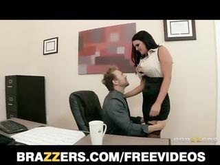 big-tit workplace lady mackenzee pierce takes two