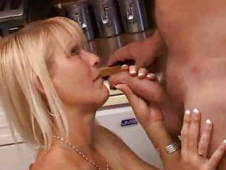 italian bleached woman