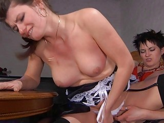 fat homosexual woman momma and amateur young