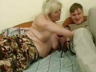 naughty mature babe seduced by amateur man
